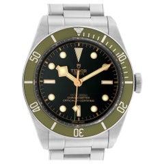 Tudor Heritage Black Bay Harrods Green Special Edition Men's Watch 79230G