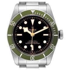 Tudor Heritage Black Bay Harrods Special Edition Mens Watch 79230G Box Card