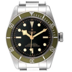 Tudor Heritage Black Bay Harrods Special Edition Men's Watch 79230G Unworn