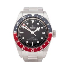 Tudor Heritage Black Bay JDM Stainless Steel 79830RB Wristwatch