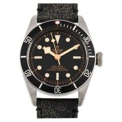 Tudor Heritage Black Bay Leather Watch 79230N