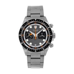 Tudor Heritage Chrono Stainless-Steel Grey Chronograph Watch 70330N-0006