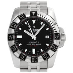 Tudor Hydronaut II 20030, Black Dial, Certified and Warranty
