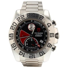 Tudor Iconaut 20400, Black Dial, Certified and Warranty