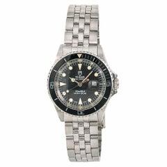 Tudor Mini-Sub 94400 Unisex Vintage Automatic Watch Black Dial SS