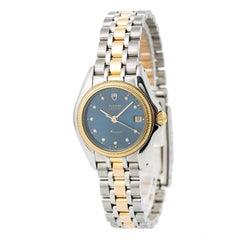 Tudor Monarch 15833 Women's Quartz Watch Two-Tone SS 18 Karat YG