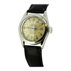 Tudor Oyster Precision, Manual Winding Mens Watch Cased in Stainless Steel, 1950