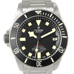 Tudor Pelagos LHD Titanium Steel Men's Watch 25610