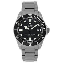 Tudor Pelagos Titanium Black Dial Diver Watch 25500TN