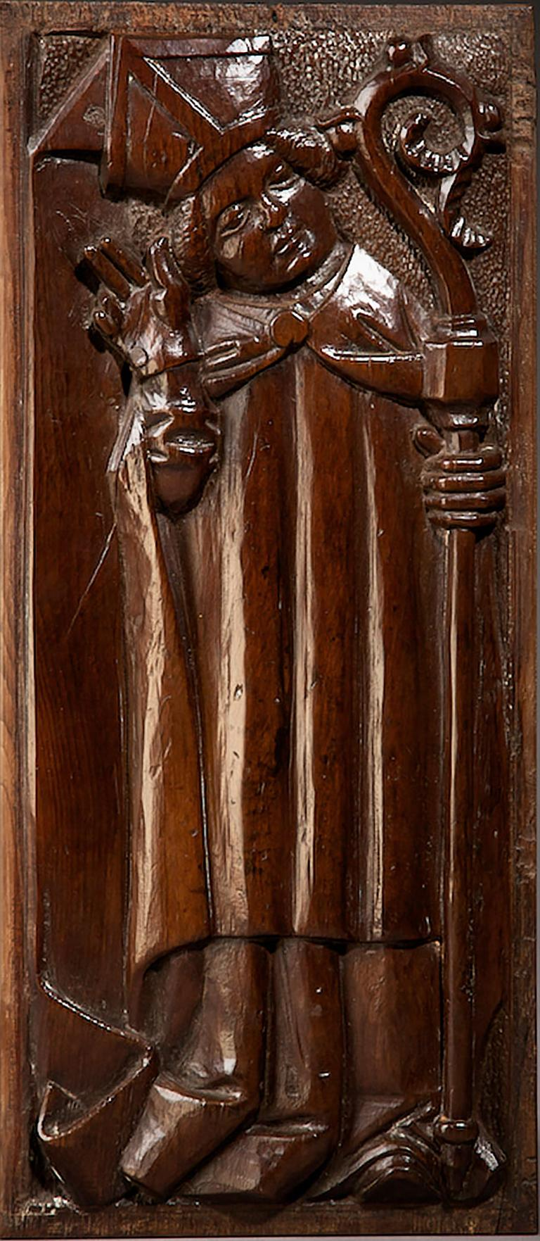 Renaissance Tudor Pre Reformation Yew Panels, English, circa 1500-1540 For Sale