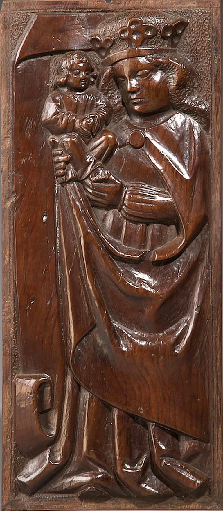 British Tudor Pre Reformation Yew Panels, English, circa 1500-1540 For Sale