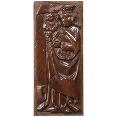 Tudor Pre Reformation Yew Panels, English, circa 1500-1540
