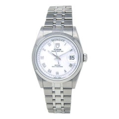 Tudor Prince 76200, White Dial, Certified and Warranty
