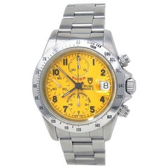 Tudor Prince 79280, Yellow Dial, Certified and Warranty