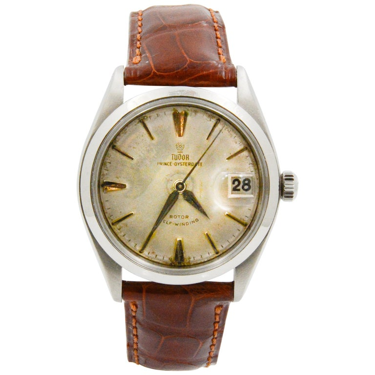 Tudor Prince 7956 Silver Dial Steel Automatic For Sale