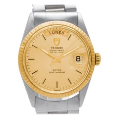 Tudor Prince 94613, Gold Dial, Certified and Warranty