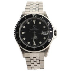Tudor Prince Oysterdate Submariner Automatic Watch Stainless Steel 36