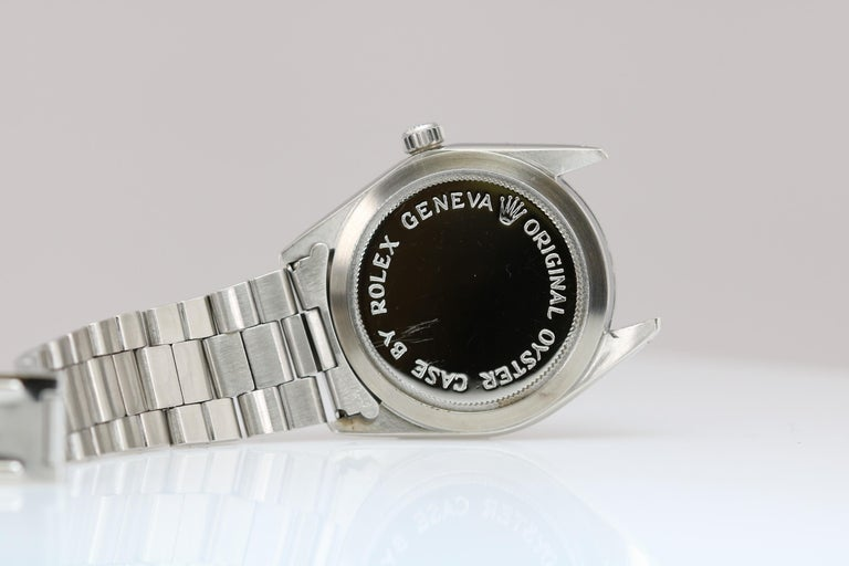 Tudor Shock Resisting Ref 7991/0 Stainless Steel, circa 1965 For Sale 2