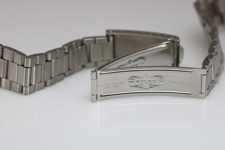 Tudor Shock Resisting Ref 7991/0 Stainless Steel, circa 1965 For Sale 3