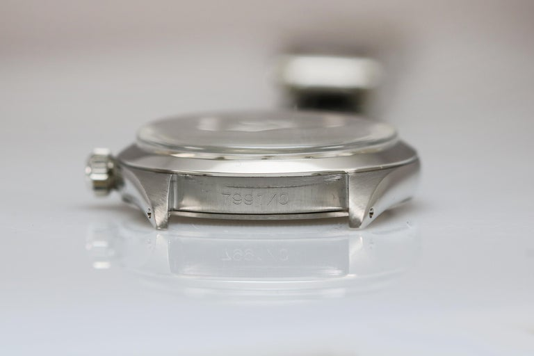 Tudor Shock Resisting Ref 7991/0 Stainless Steel, circa 1965 For Sale 4