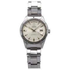 Tudor Stainless Steel Oyster Prince Date Automatic Watch, 1960s