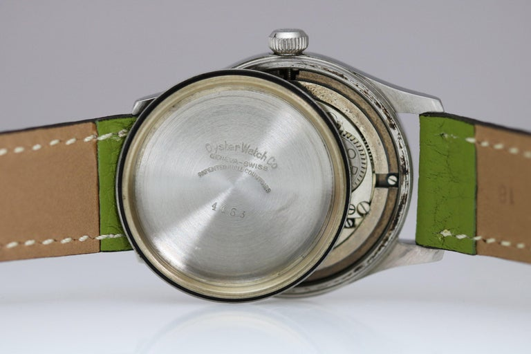 Tudor Stainless Steel Oyster Ref 4463 Wristwatch, circa 1960s For Sale 1