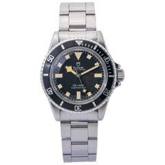 Tudor Submariner 7016/0, Black Dial, Certified and Warranty