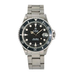 Tudor Submariner 75090, Black Dial, Certified and Warranty