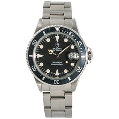 Tudor Submariner 75090, Silver Dial, Certified and Warranty