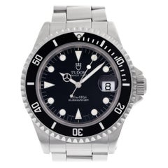 Tudor Submariner 79190, Black Dial, Certified and Warranty