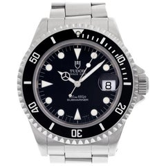 Tudor Submariner 79190, Case, Certified and Warranty