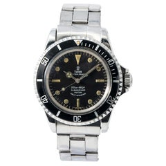 Tudor Submariner 7928, Blue Dial, Certified and Warranty