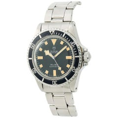 Tudor Submariner 94010, Black Dial, Certified and Warranty