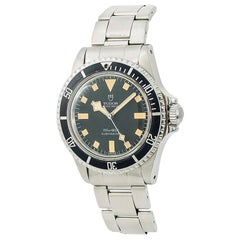 Tudor Submariner Snowflake 94010 Men's Automatic Vintage Watch Year 1979