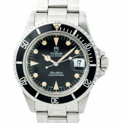 Tudor Submariner Vintage 79090 Patina Men's Automatic Watch Box and Papers