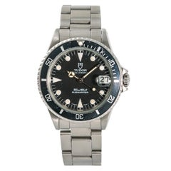 Tudor Submariner3840, Black Dial Certified Authentic