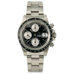 Tudor Vintage Oysterdate Big Block 79160 Men's Automatic Watch Chronograph