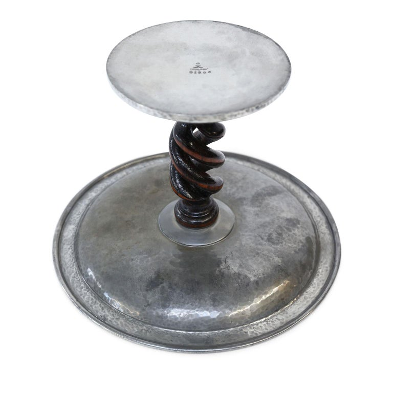 Tudric Pewter Tazza For Sale 1