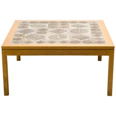 Tue Poulsen Tile Coffee Table