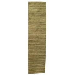 Tufenikian Carpets Long Wool Green Runner