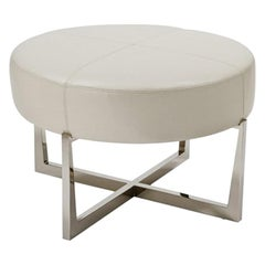 Tuffet Round Ottoman by Powell & Bonnell