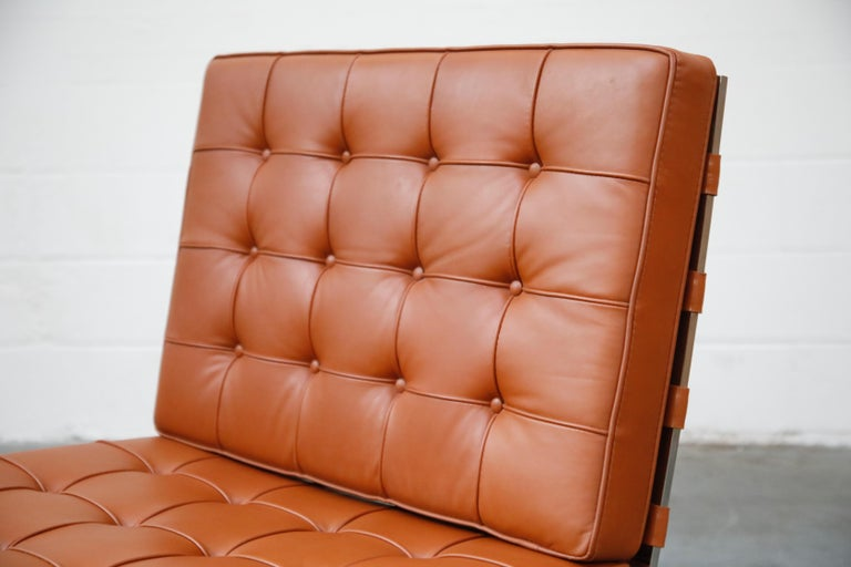 Tugendhat Lounge Chair by Mies van der Rohe for Knoll Associates, 1960s, Signed For Sale 3