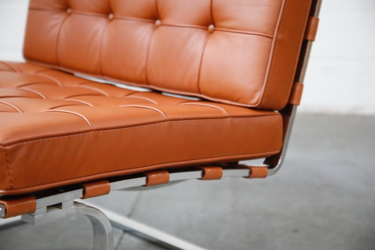 Tugendhat Lounge Chair by Mies van der Rohe for Knoll Associates, 1960s, Signed For Sale 5