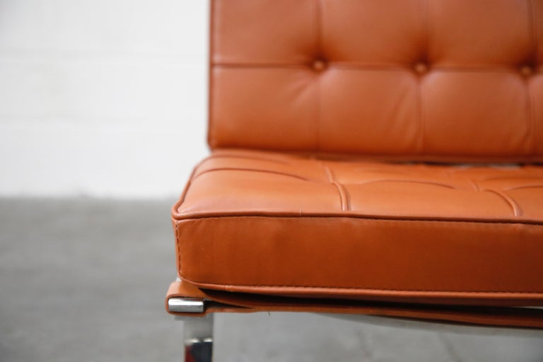Tugendhat Lounge Chair by Mies van der Rohe for Knoll Associates, 1960s, Signed For Sale 6