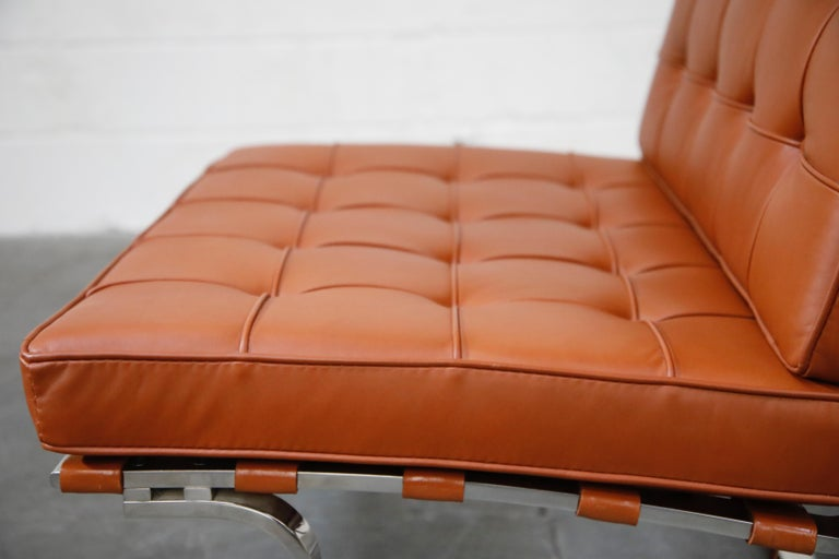 Tugendhat Lounge Chair by Mies van der Rohe for Knoll Associates, 1960s, Signed For Sale 7