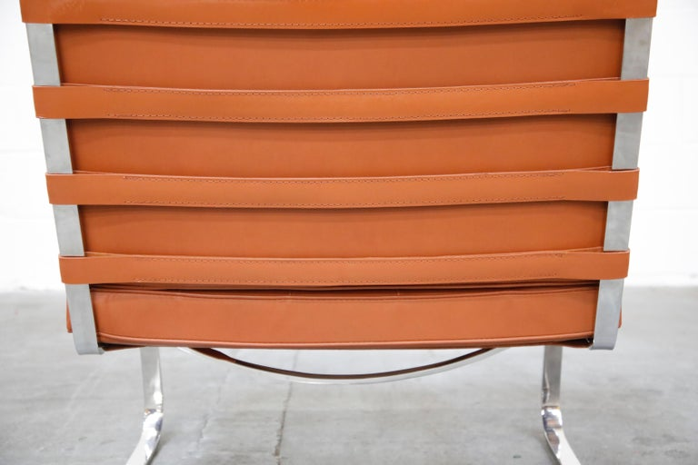 Tugendhat Lounge Chair by Mies van der Rohe for Knoll Associates, 1960s, Signed For Sale 11