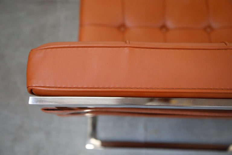 Tugendhat Lounge Chair by Mies van der Rohe for Knoll Associates, 1960s, Signed For Sale 12