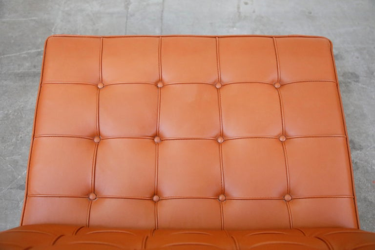 Tugendhat Lounge Chair by Mies van der Rohe for Knoll Associates, 1960s, Signed For Sale 13