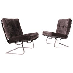 Tugendhat Pair of Chair Designed by Mies Van Der Rohe and Lilly Reich