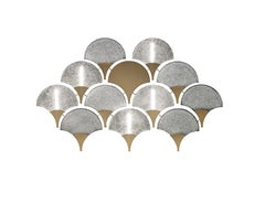 Tuileries 7375 Wall Sconce in Glass with Honey Bronze Finish, by Barovier&Toso
